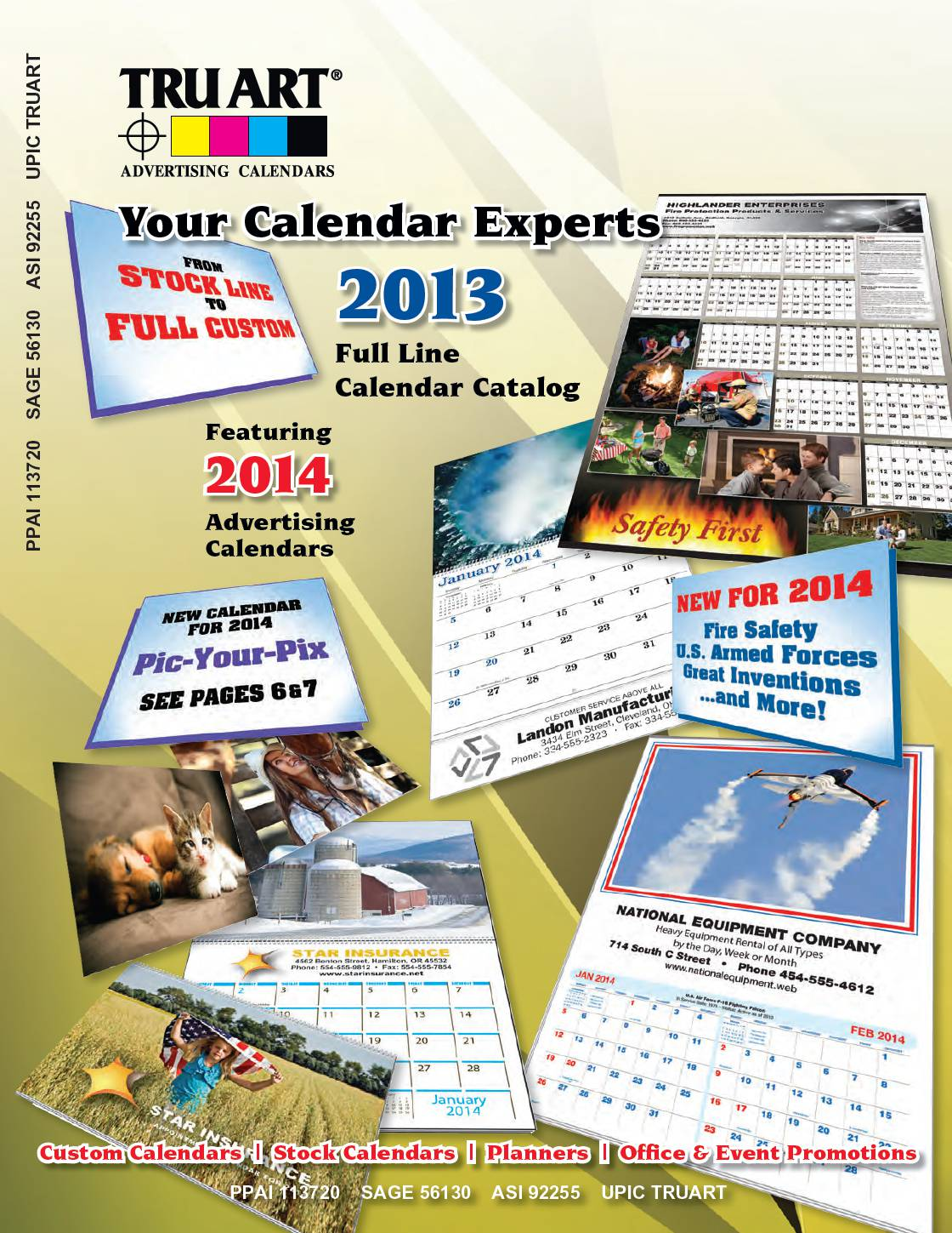 Calendars and Planner Catalog