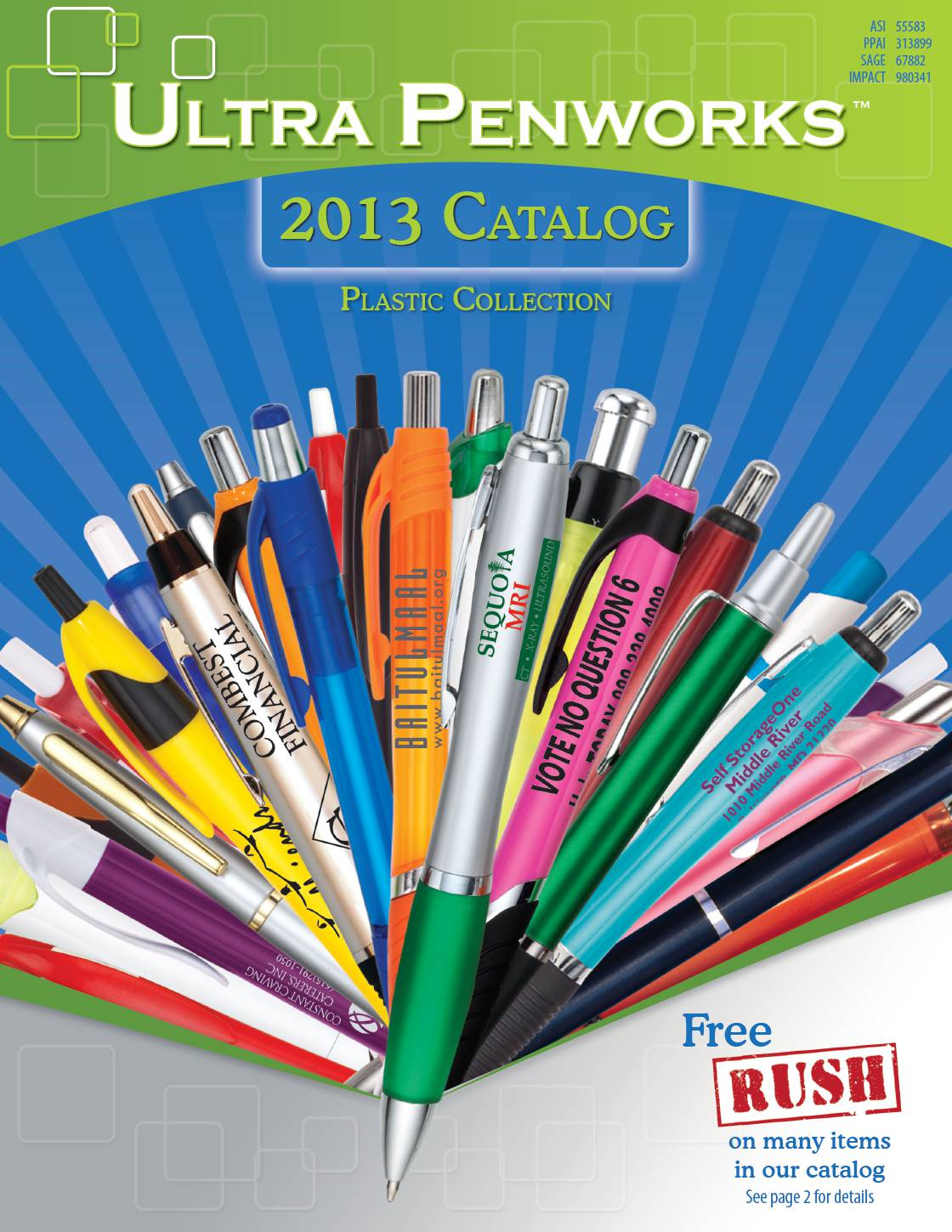 Pens and Writing Instruments Catalog